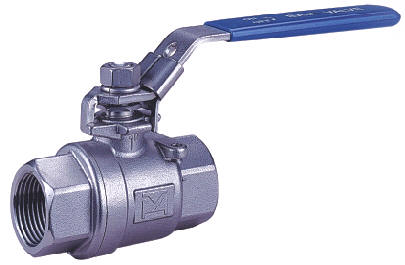 TWO PIECE SCREWED END BALL VALVE 2006 01