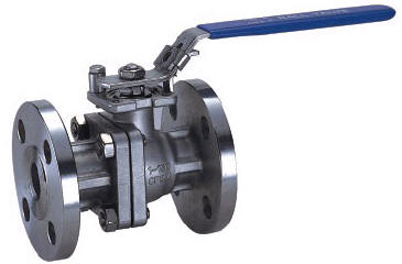 TWO PIECE FLANGED END BALL VALVE 2020N 01