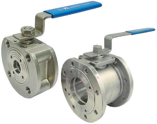 ONE PIECE FLANGED END BALL VALVE 2052A 01