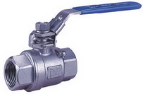 "TWO PIECE BALL VALVE 2006 - Full port, W. P.: 1/4""~1""  -2000 WOG (PN150). middle"