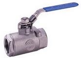 "TWO PIECE BALL VALVE 2007A - Standard port, W. P.: 1/4""~1""  -2000 WOG (PN150). middle"