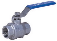 "TWO PIECE BALL VALVE 2009 - Full port, 1/4""~3"" (DN8~DN80). middle"