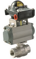 "TWO PIECE BALL VALVE 2009D - Full port, 1/4""~2"" (DN8~DN50). middle"