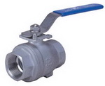 "TWO PIECE BALL VALVE 2009M - Full port, 1/4""~3"" (DN8~DN80). middle"