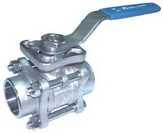 "THREE PIECE BALL VALVE 2011D - Full port, 1/4""~4"" (DN8~DN50). middle"