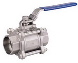 "THREE PIECE BALL VALVE 2011M - Full port, 1/4""~4"" (DN8~DN100). middle"