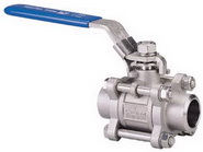 "THREE PIECE BALL VALVE 2012 - Full port, 1/4""~4"" (DN8~DN100). middle"
