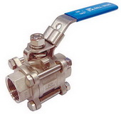 "THREE PIECE BALL VALVE 2013 - Full port, 1/4""~4"" (DN8~DN100). middle"