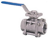 "THREE PIECE BALL VALVE 2013D - Full port, 1/4""~2"" (DN8~DN50). middle"