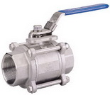 "THREE PIECE BALL VALVE 2013M - Full port, 1/4""~4"" (DN8~DN100). middle"