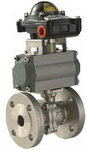 "TWO PIECE BALL VALVE 2019D - Full port, 1/2""~4"" (DN15~DN100). middle"
