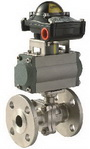 "TWO PIECE BALL VALVE 2020D - Full port, 1/2""~8"" (DN15~DN200). middle"